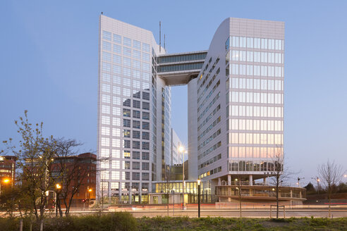 Netherlands, The Hague, International Crime Court, temporarily housed in the Arc building - MSF004528