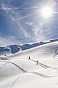 Germany, Bavaria, Bolsterlang, ski tour - EGBF000027