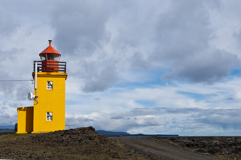 Iceland, Grindavik, view to light house - KEBF000181