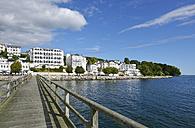 Germany, Ruegen, Sassnitz, Hotel Fuerstenhof at the waterfront - LHF000470