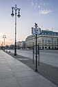 Germany, Berlin, Pariser Platz at dawn - ASCF000130