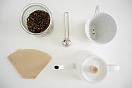 Still life with utensils for preparing filter coffee - FLF001007