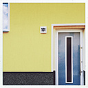 Coloured house front in Dessau, Germany - MEM000735