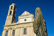 Greece, Crete, Chania, church and statue - RUNF000054