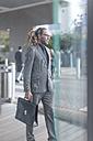 Businessman with briefcase - ZEF005843