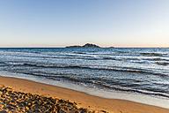 Greece, Corfu, Arillas beach in the evening - EGBF000055