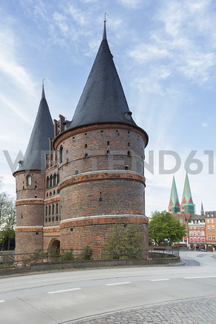Germany, Luebeck, Holsten Gate - NKF000245