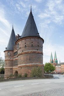 Germany, Luebeck, Holsten Gate - NKF000245