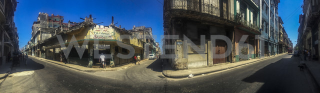 panorama, streetcorner, Havana, Cuba - FB000390 - Frank Blum/Westend61