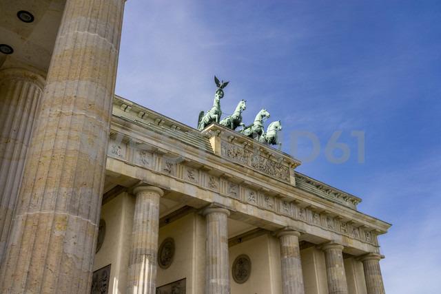 Germany, Berlin, Berlin-Mitte, Brandenburg Gate, Quadriga - EGBF000071 - Ega Birk/Westend61
