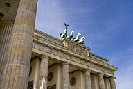 Germany, Berlin, Berlin-Mitte, Brandenburg Gate, Quadriga - EGBF000071