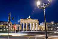 Germany, Berlin, Berlin-Mitte, Brandenburg Gate, Place of March 18 at night - EGBF000090