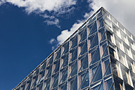 Switzerland, Geneva, facade of modern office building - FC000681