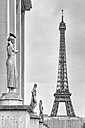 France, Paris, view to Eiffel Tower - HSKF000042