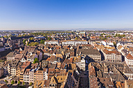 France, Alsace, Strasbourg, Old town, view to Minster - WDF003109
