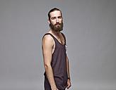 Portrait of man with full beard - RH000888