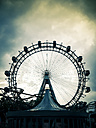 Austria, Vienna, ferris wheel at Prater - EL001516