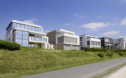 Germany, Dortmund, Modern one-family houses, Development area Phoenix-See - GUFF000123