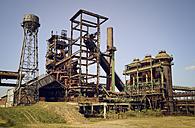 Germany, North Rhine-Westphalia, Dortmund-Hoerde, Phoenix West, abandoned blast furnace steelmill - GUFF000124