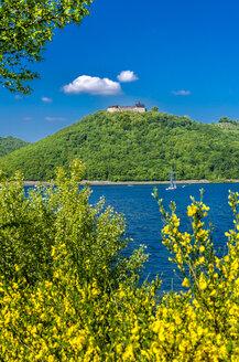 Germany, Hesse, Waldeck, Lake Edersee, Castle Waldeck - MH000362