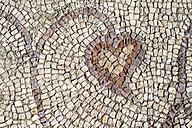 Bulgaria, Plovdiv, Roman mosaic in The Great Basilica - DEGF000439