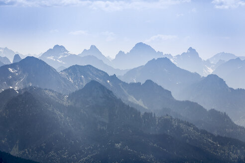 View of Ammergau Alps - KLEF000021