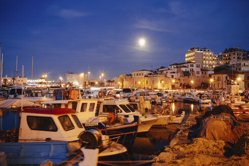 Greece, Crete, harbour of Iraklion - STDF000176