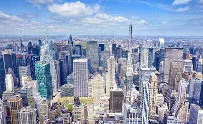 USA, New York, Manhattan, view to the city - SEGF000375