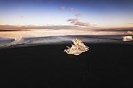 Iceand, Jokulsarlon beach, mini icebergs - SMAF000341
