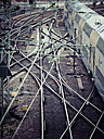 Germany, Hamburg, train, railway tracks - KRP001434