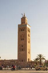 Morocco, Marrakesh, view to Koutoubia Mosque - JUNF000321