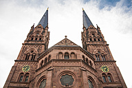 Germany, Freiburg, view to Basilica of St John from below - TAMF000130