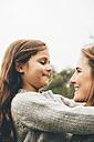 Little girl hugging her mother - CHAF000248