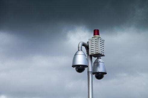 Germany, surveillance cameras and alarm system - TAMF000056