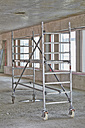Scaffolding in an unfinished building - FMKF001649