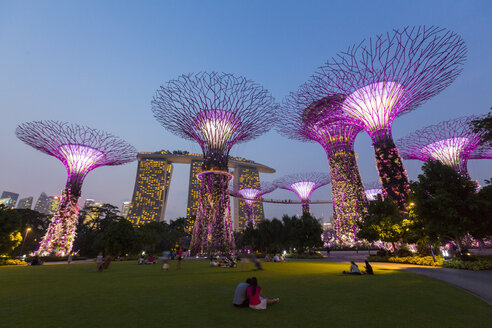 Singapore, Gardens by the bay, Supertree Grove - EA000004