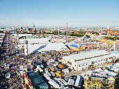 Germany, Bavaria, Munich, View of Oktoberfest fair on Theresienwiese - BRF001231