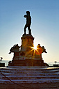 Italy, Florence, replica of statue of David on Piazzale Michelangelo - MAEF010798