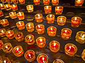 Lighted votive candles - AMF004106
