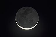 Zimbabwe, new moon at night - FOF008233