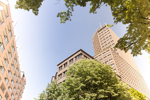 Germany, Berlin, Kollhoff-Tower at Potsdam Square - CMF000309