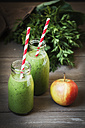 Green smoothies with an apple - EVGF001972