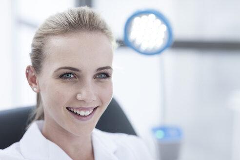 Portrait of smiling nurse - ZEF005976