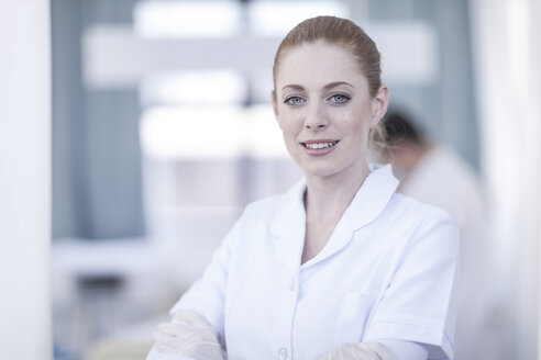 Portrait of smiling nurse - ZEF006070