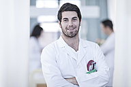 Portrait of confident doctor - ZEF006074