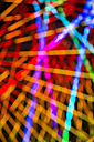 Overlayed colourful shining lines - NDF000538