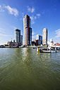 Netherlands, Rotterdam, Feijenoord, view to city centre - THAF001415