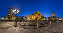 Germany, Berlin, view to Gendarmenmarkt in the evening - PVCF000486