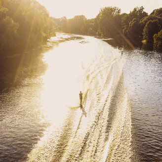 Water skier on river - GC000111