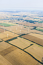Germany, Brandenburg, Windpark, harvested fields - ZMF000428